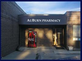 The AuBurn Pharmacy Carbondale Location.