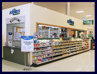 The picture shows AuBurn Pharmacy Inside Price Chopper in Independence, Missouri, on 23rd Street