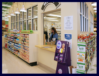 Pictured is The AuBurn Pharmacy located inside of Price Chopper in Parkville Missouri.