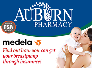 Pictured is the Flier for Medela, and how you can get a breast pump through insurance.