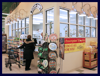 Pictured is The AuBurn Pharmacy Inside Price Chopper in  Leawood Kansas