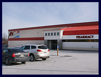Pictured is The Noland Road Street Price Chopper with AuBurn Pharmacy