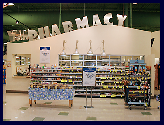 Pictured is the AuBurn Pharmacy inside of Price Chopper in Independence, Missouri, on Noland Road Street